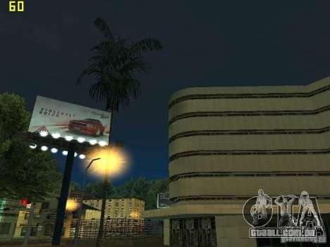 GTA SA IV Los Santos Re-Textured Ciy para GTA San Andreas décimo tela