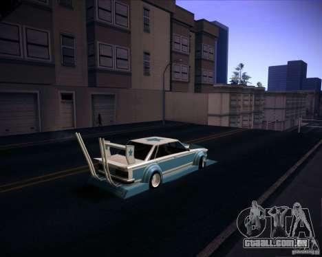 Toyota Cresta GX71 Bosozoku para GTA San Andreas esquerda vista