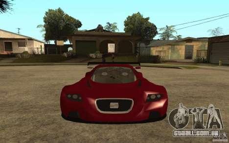 Seat Cupra GT para GTA San Andreas vista direita