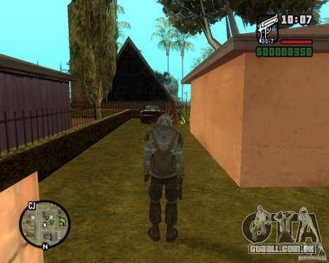 Céu claro perseguidor de para GTA San Andreas terceira tela