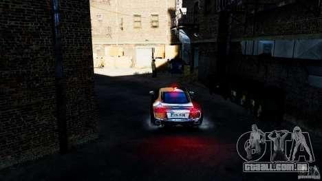 Audi R8 Spider 2011 para GTA 4 vista interior