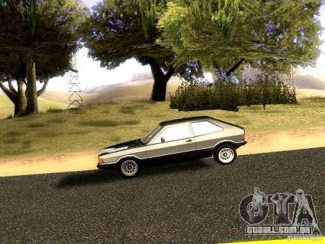 Volkswagen Scirocco Mk1 para GTA San Andreas esquerda vista