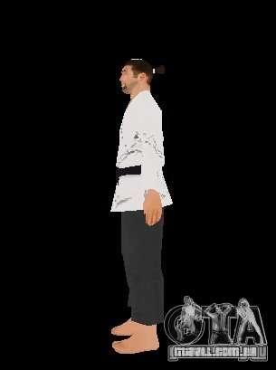 Reteksturirovannye karate para GTA San Andreas segunda tela