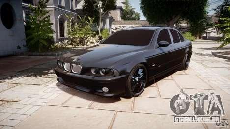 BMW M5 E39 Stock 2003 v3.0 para GTA 4