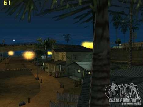 GTA SA IV Los Santos Re-Textured Ciy para GTA San Andreas sexta tela