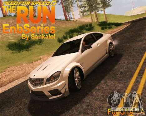 NFS The Run ENBSeries by Sankalol para GTA San Andreas