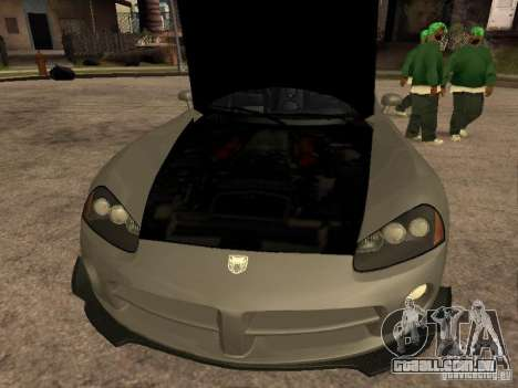 Dodge Viper para GTA San Andreas vista direita