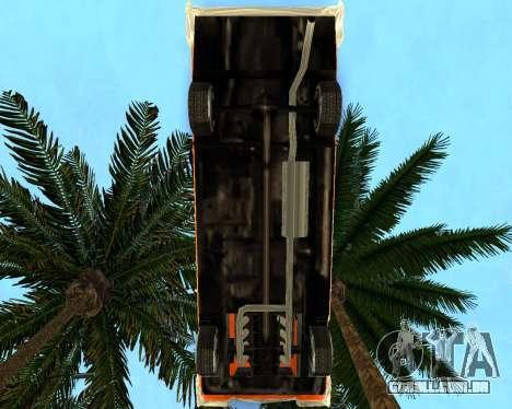 Plymouth Belvedere para GTA San Andreas traseira esquerda vista