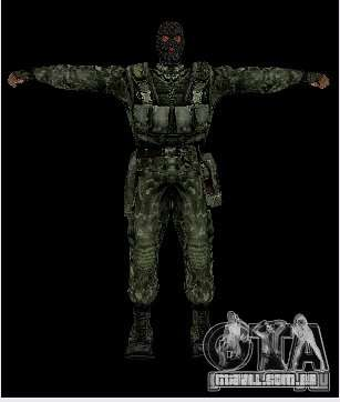 STALKER Shadow of Chernobyl SWAT OGSE para GTA San Andreas terceira tela