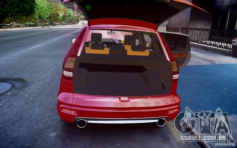 Honda CR-V Light Tuning para GTA 4 vista inferior