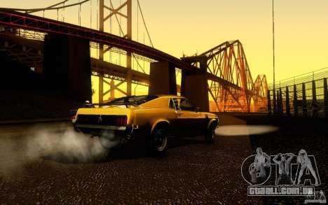 Ford Mustang Boss 302 para GTA San Andreas vista interior