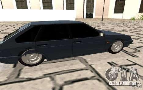 2109 VAZ, v. 2 para GTA San Andreas esquerda vista