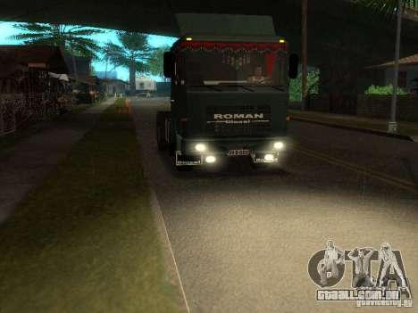 Roman R 10215 FS para GTA San Andreas traseira esquerda vista