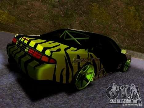 Nissan Silvia S14 Matt Powers v3 para GTA San Andreas traseira esquerda vista