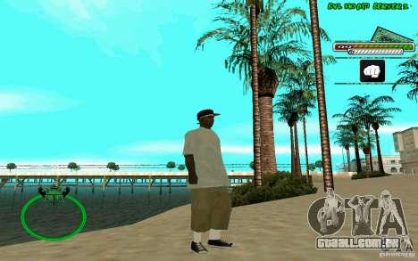 Nigga HD skin para GTA San Andreas por diante tela