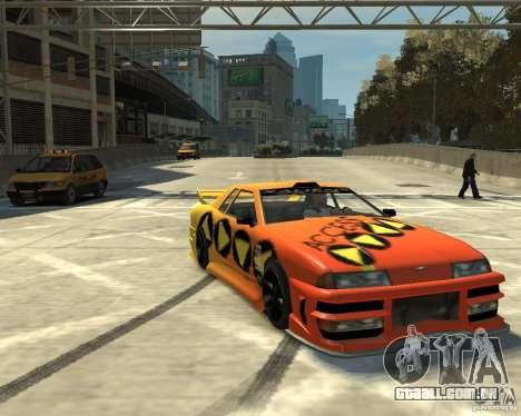 Elegy Tuning para GTA 4 esquerda vista