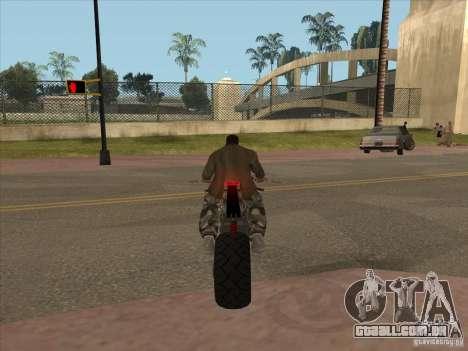 TLaD Double T Custom para GTA San Andreas vista traseira