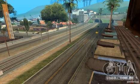 Grove Street 2013 v1 para GTA San Andreas segunda tela