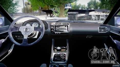 Honda Civic EK9 Tuning para GTA 4 vista direita