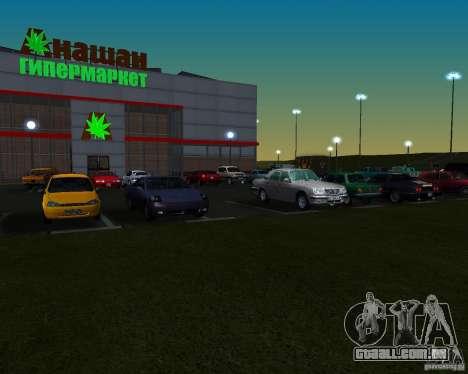 Carros no estacionamento em Anašana para GTA San Andreas