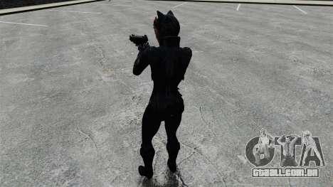 Mulher gato para GTA 4 quinto tela