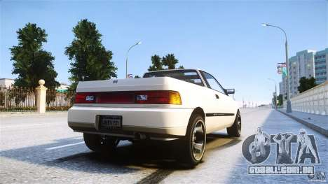 Blista Pick Up para GTA 4 esquerda vista