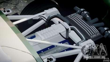 Ford GT1000 Hennessey Police 2006 [EPM][ELS] para GTA 4 vista superior