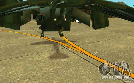 Aliens vs. Predator Marine Drobship para GTA San Andreas vista superior