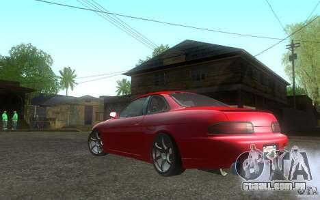 Lexus SC300 para GTA San Andreas esquerda vista
