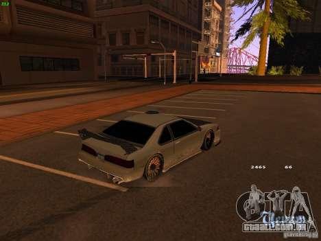 New Racing Style Fortune para GTA San Andreas traseira esquerda vista