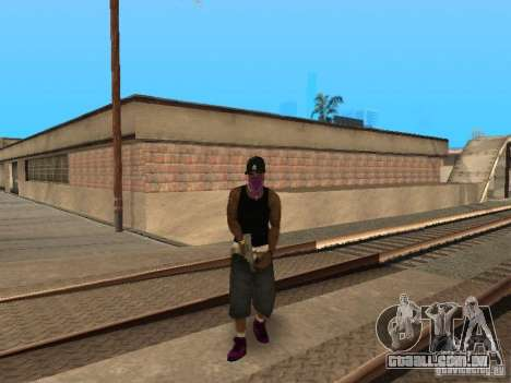 Pack Ballas Soldiaz Families V.2 para GTA San Andreas por diante tela