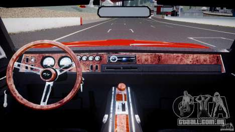 Dodge Charger General Lee 1969 para GTA 4 vista direita
