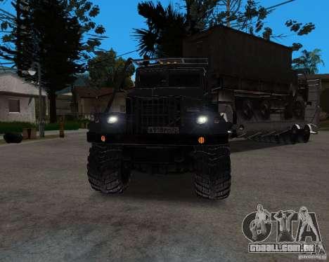 KrAZ 255 + reboque artict2 para GTA San Andreas