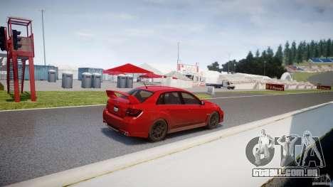 Subaru Impreza WRX STi 2011 para GTA 4 traseira esquerda vista