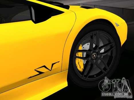Lamborghini Murcielago LP670-4 sv para o motor de GTA San Andreas
