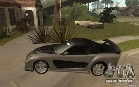 Mazda RX 7 VeilSide Fortune v.2.0 para GTA San Andreas esquerda vista
