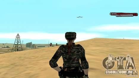Soldado HD para GTA San Andreas por diante tela