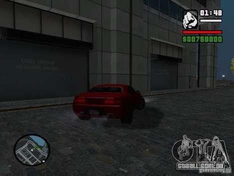 NFS Undercover Coupe para GTA San Andreas esquerda vista