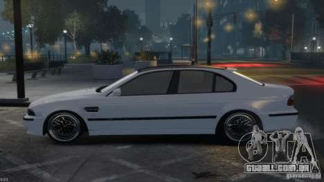 BMW M5 E39 BBC v1.0 para GTA 4 vista lateral