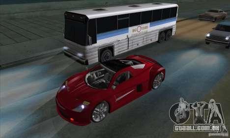 Xenon luzes (faróis de Xenon) para GTA San Andreas