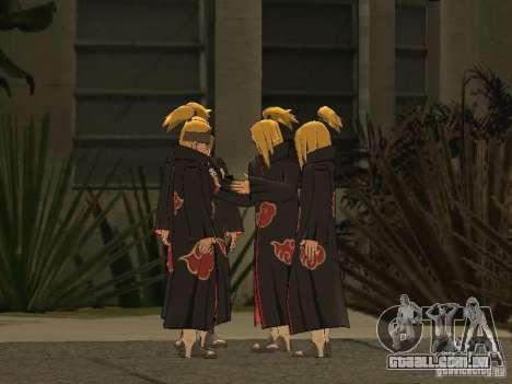 The Akatsuki gang para GTA San Andreas nono tela