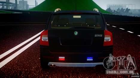 Skoda Octavia Scout Unmarked [ELS] para GTA 4 rodas
