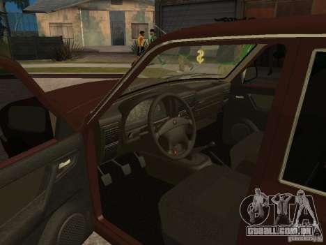 GÁS 311055 para GTA San Andreas vista interior