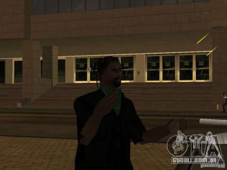 Substituir todos os skins Grove Street famílias para GTA San Andreas segunda tela