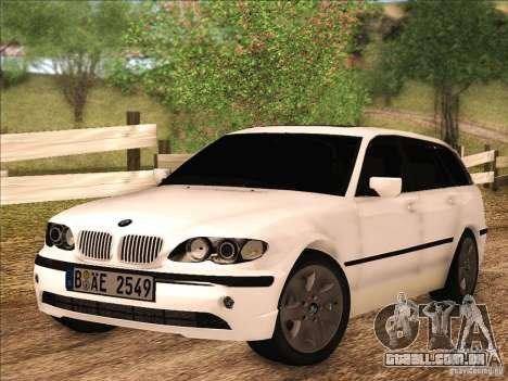 BMW M3 E46 Touring para GTA San Andreas esquerda vista