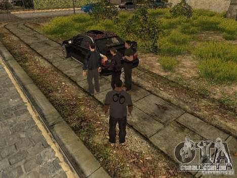 MAFIA Gang para GTA San Andreas segunda tela