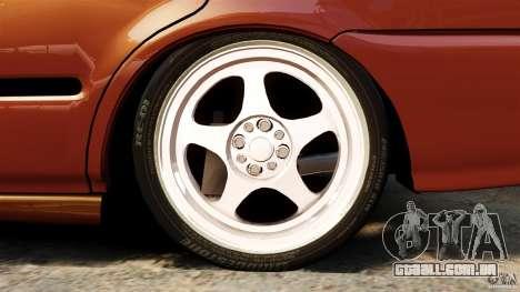 Honda Civic iES para GTA 4 vista lateral
