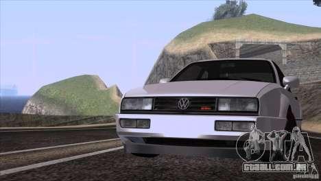 Volkswagen Corrado VR6 para GTA San Andreas esquerda vista