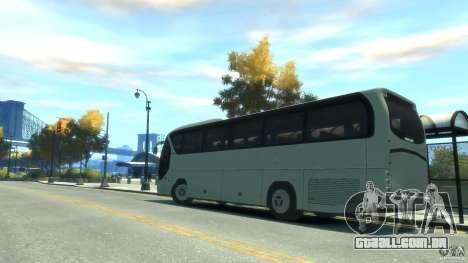 Neoplan Tourliner para GTA 4 esquerda vista