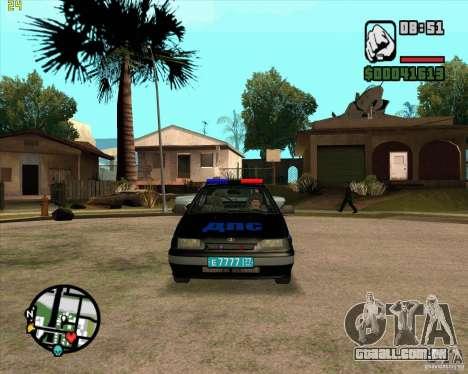 ВАЗ 2114 DPS tuning para GTA San Andreas esquerda vista